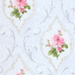 Tudor Rose Wallpaper DE41447 By SK Filson For Dixons Exclusive